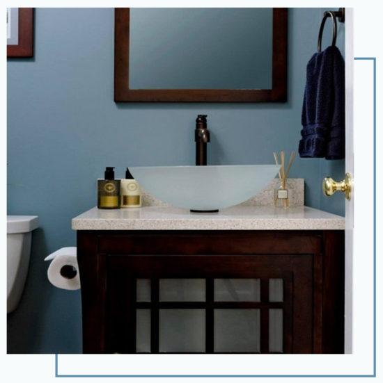 bathroom remodeling build phase
