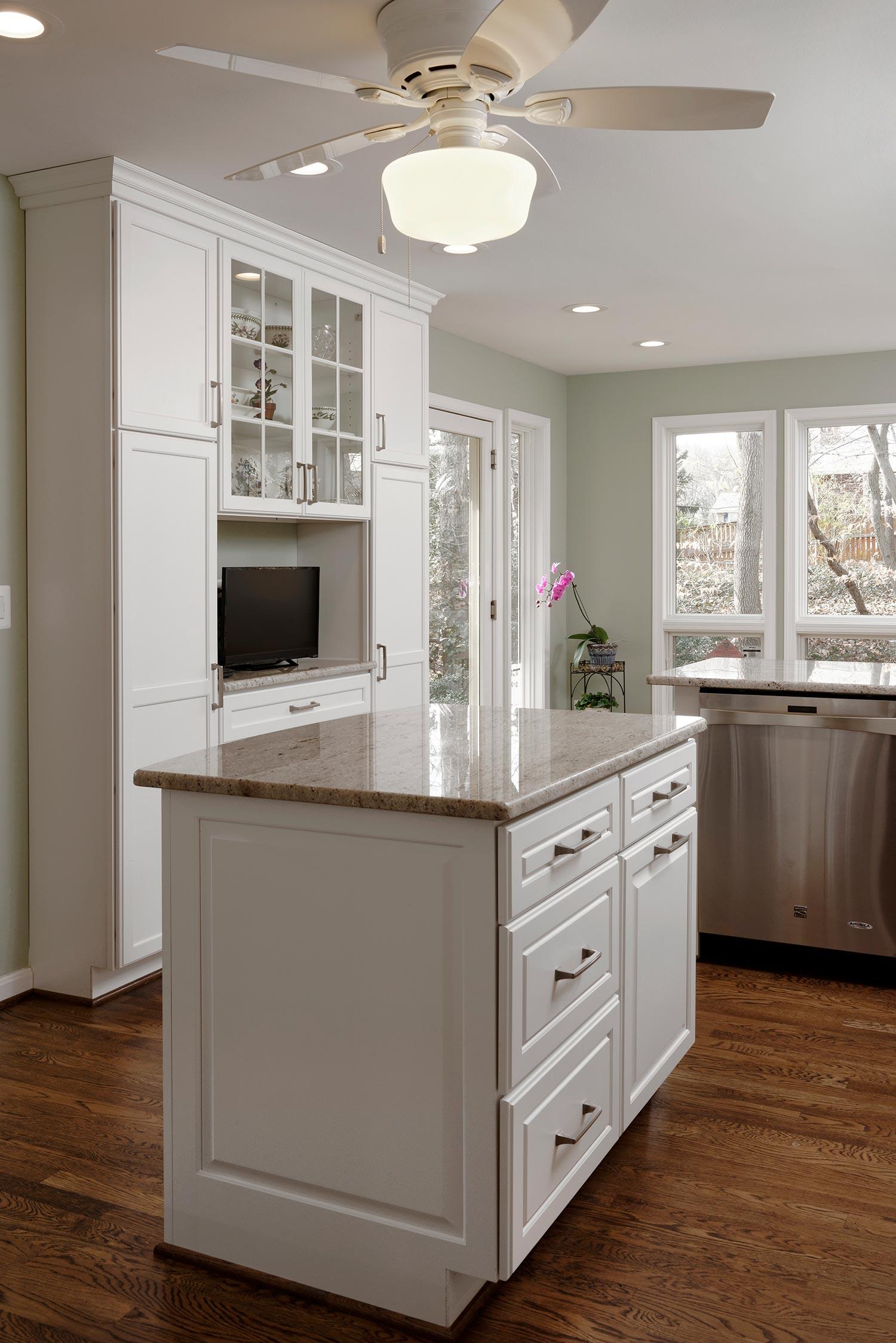 millennial cream granite countertops